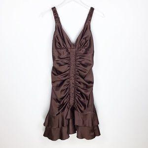 Vintage Jessica McClintock satin dress
